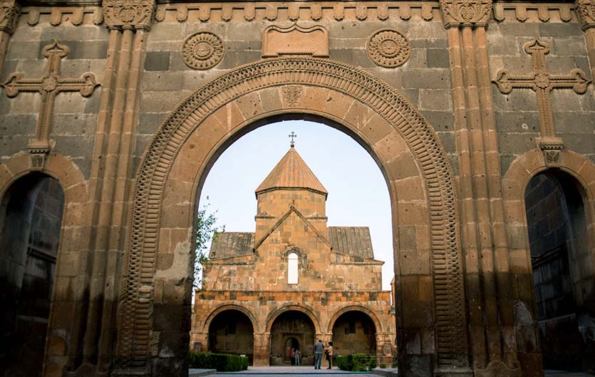 Kathedrale in Edjmiazin Armenien